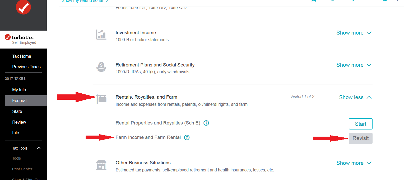 Where can i find form 4835 turbotax support to get to the form 4835 interview rentalroyaltyfarmg falaconquin