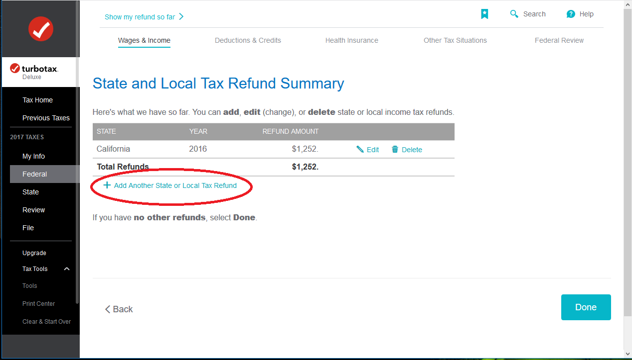 I have two 2017 1099g state form one says refund is for tax ye 1099gsaltaddg falaconquin