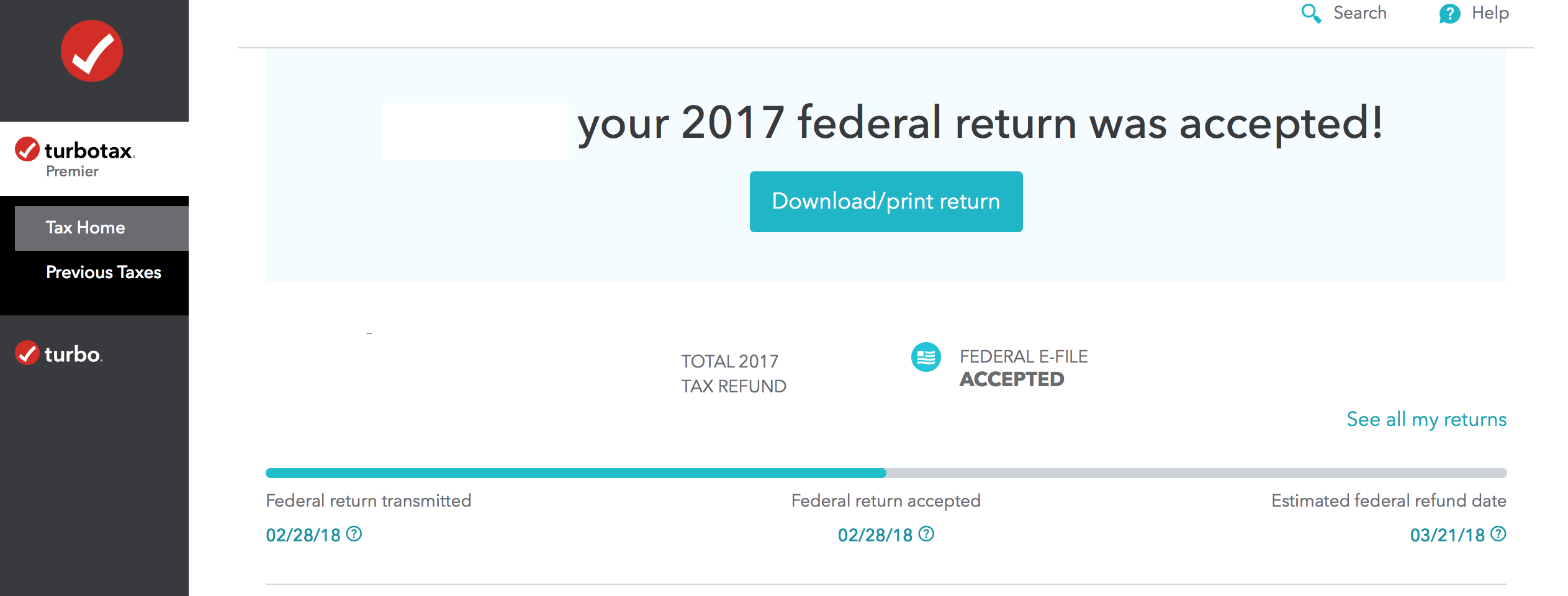 How To Download Turbotax Return Estimator 2018