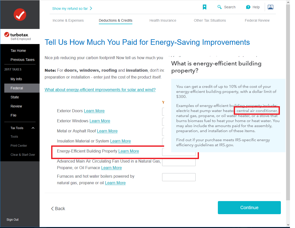 Is there a 2016 tax credit for installing energy efficient furna 5695eebphvacg falaconquin