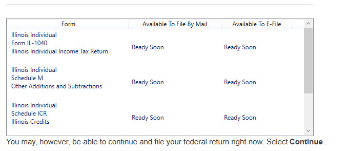Can You Complete And File Your 2017 Illinois Return In Turbotax