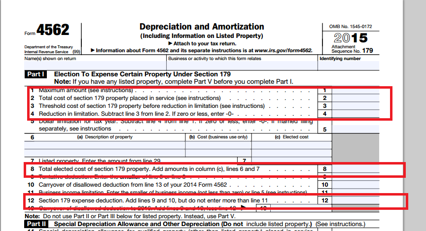 in an S Corportion where on the return does the deduction for a – Depreciation Worksheet