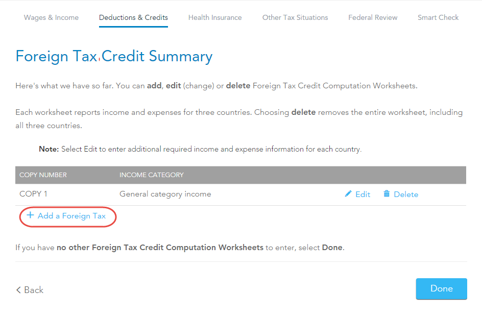 Foreign Tax Credit & IRS Form 1116 Explained - Greenback Expat Taxes