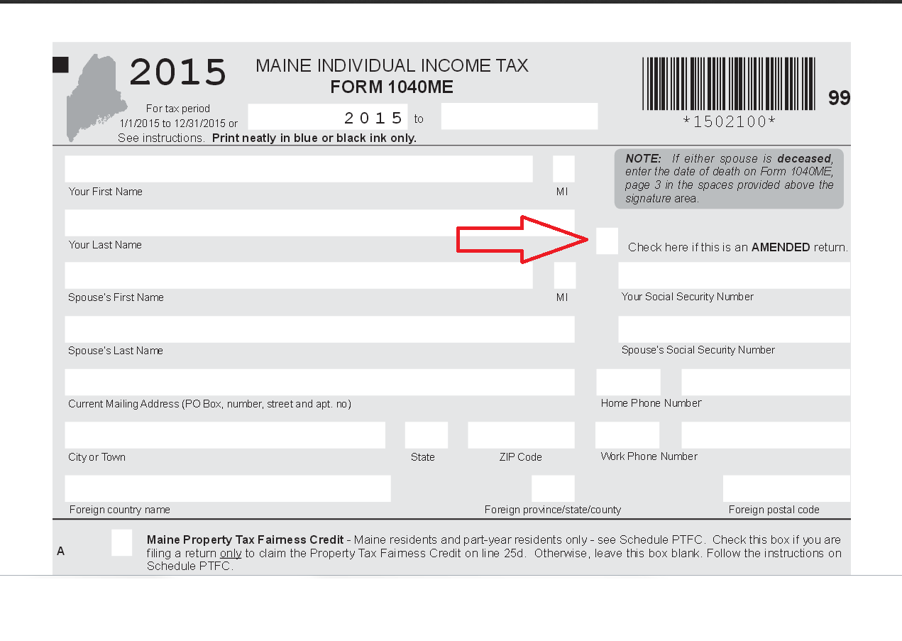 I can't amend my Maine tax return - TurboTax Support