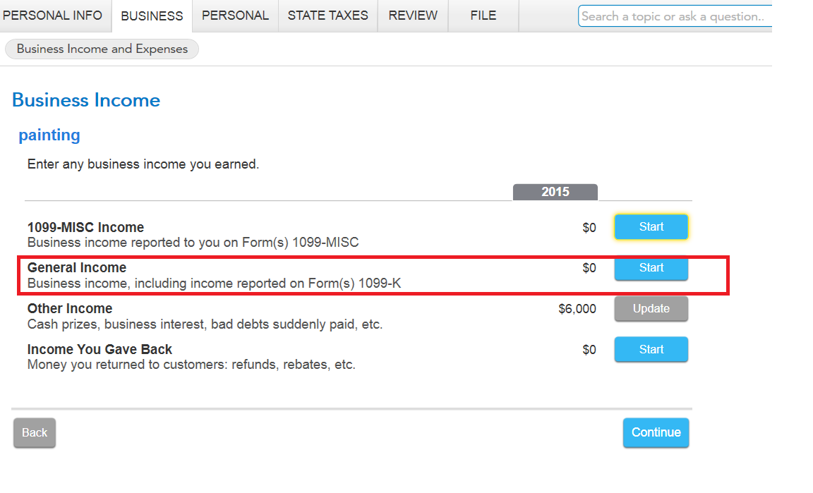Reporting income but dont have a 1099 form or ein turbotax support generalincomeg falaconquin