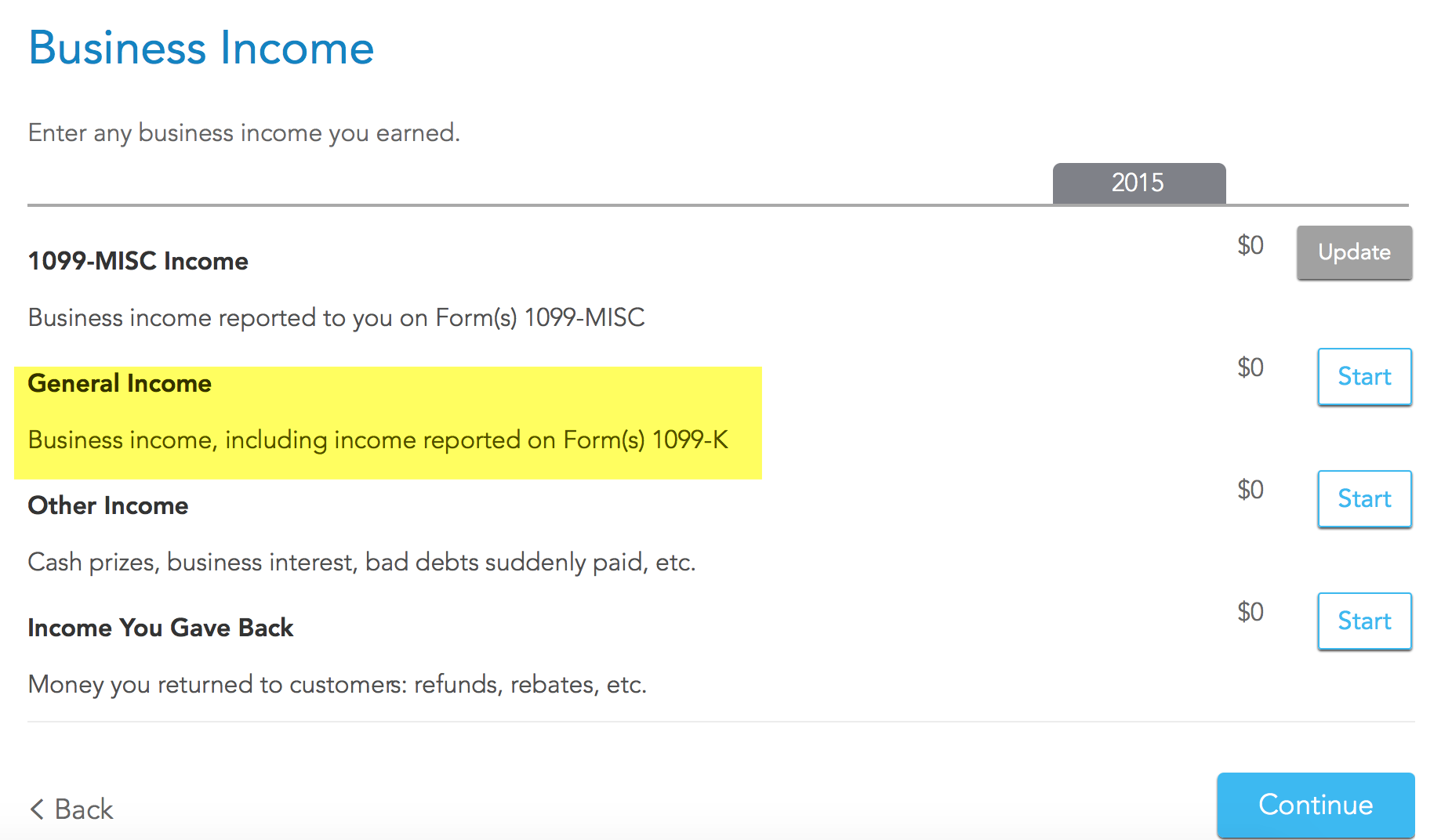 How do i include non w2 income into my tax filing turbotax support generalincomeg falaconquin
