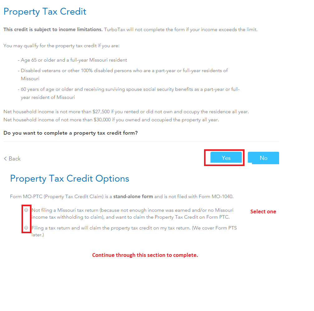 Need To Know If I Am Eligible To File A Missouri Property Tax Cr