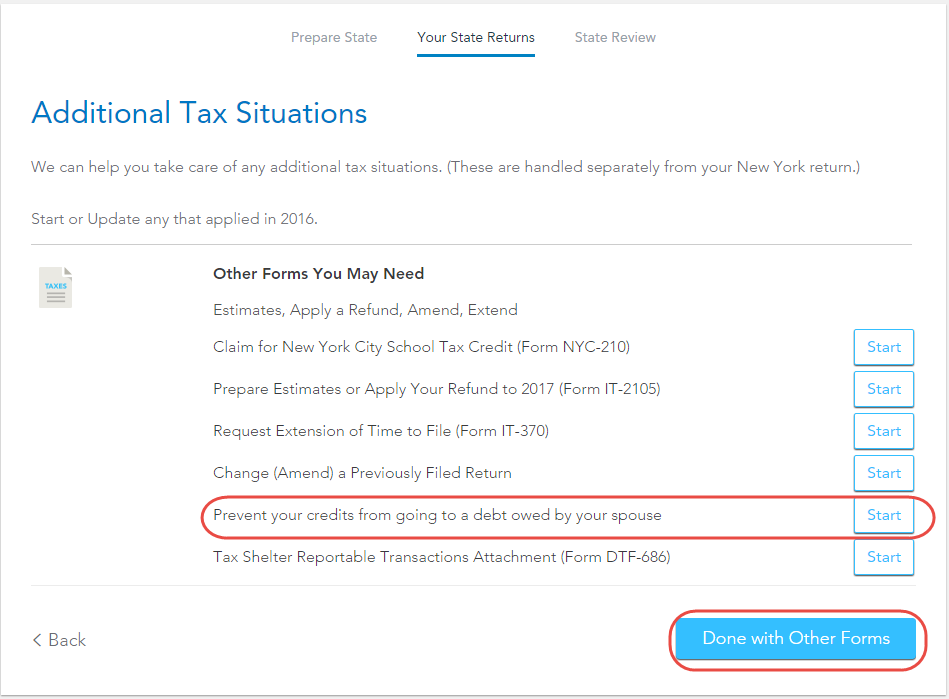 My spouse owes money to the IRS and NYS... I filled out the inju ...