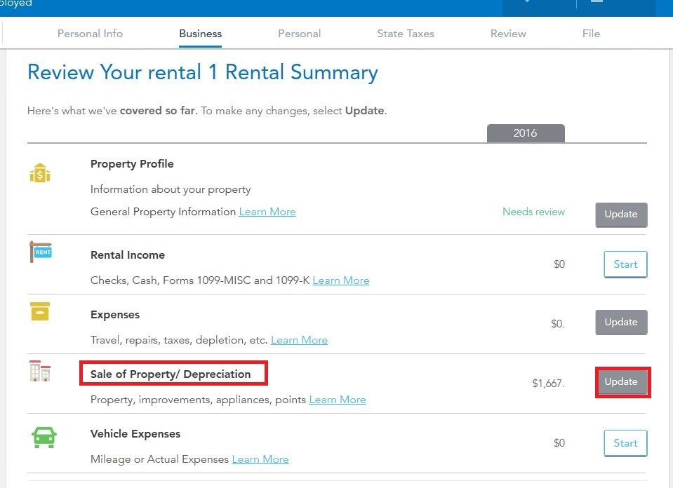 Which Turbotax For Sale Of Rental Home