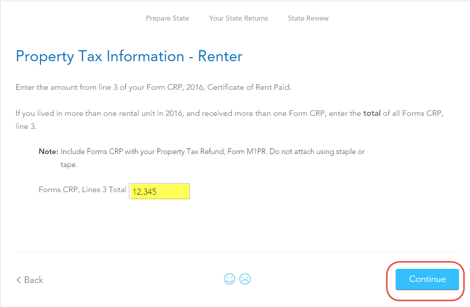 certificate of rent paid - TurboTax Support