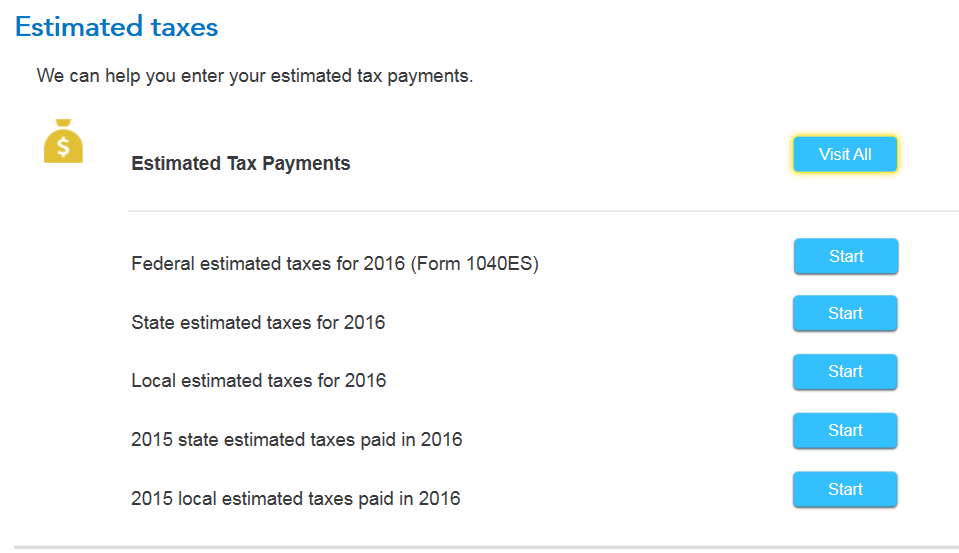 The estimated tax shown does not match estimated taxes paid and ...