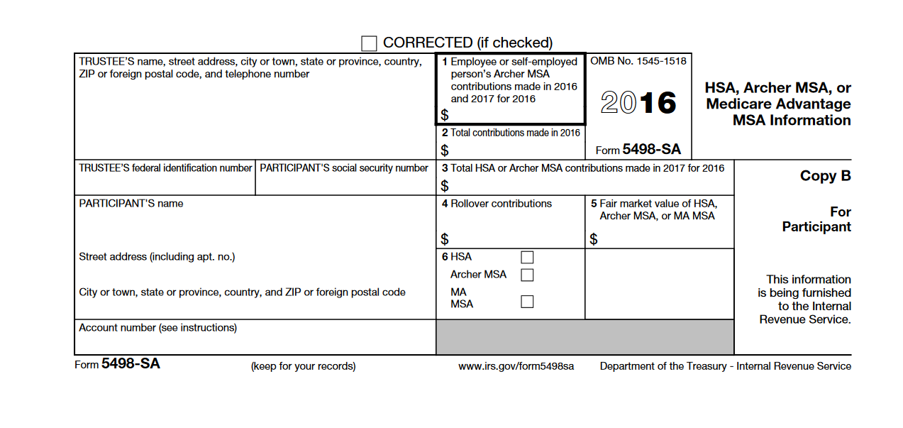 My form 4598-SA fmv is Box 5 not 4 and does not indicate date o ...