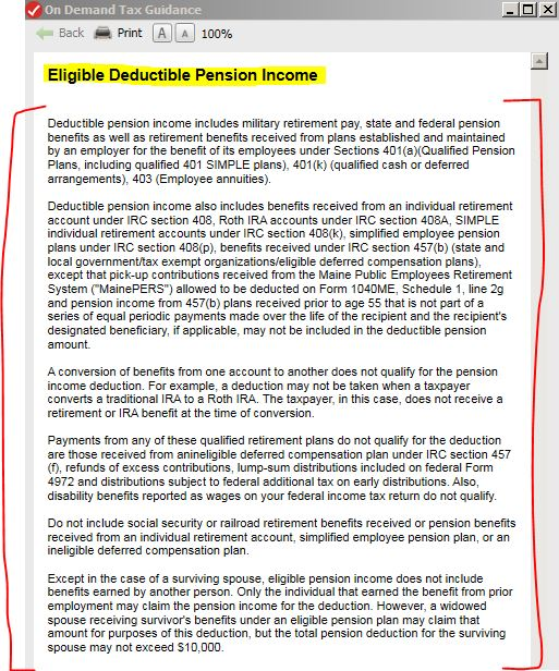 Do I qualify for the Pension Income Deduction if I collect from ...